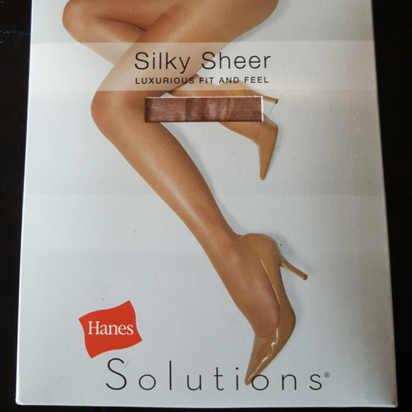 94c23985a2c32 Hanes Silky Sheer XL Panty Hose NWT